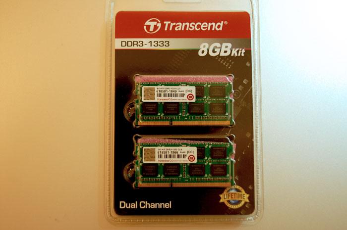 DDR-1333 8GB
